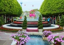 Ami il giardino Sosta di sogno del mondo, Bangkok Fotografia Stock Libera da Diritti