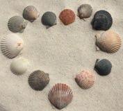 Ami la spiaggia fotografie stock