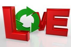 Ami riciclare Immagini Stock