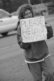 Ami sans foyer Photo libre de droits