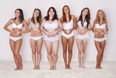 Amiamo i nostri corpi Fotografia Stock