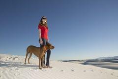 Amiamo il deserto Fotografia Stock