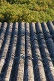 Amiante construit de matériel de toit Photographie stock libre de droits