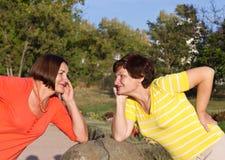Amica due Fotografia Stock