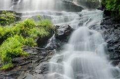 Amicalola Falls Looking Up Royalty Free Stock Images