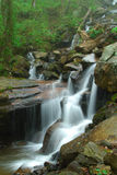 Amicalola water fall. This is a small fall below Amicalola water fall near Atlanta Stock Image