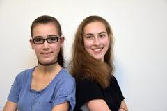 Amiche dell'adolescente Fotografie Stock Libere da Diritti