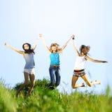 Amiche di divertimento Fotografie Stock