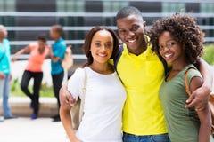 Amici africani dell'istituto universitario Immagini Stock