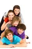 Amici che hanno divertimento Fotografia Stock