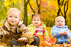 Amici del bambino Fotografie Stock Libere da Diritti