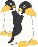 Amici del pinguino Immagini Stock