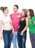 Amici della High School Fotografia Stock