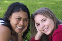 Amici delle donne fotografia stock libera da diritti
