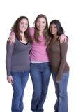 Amici delle donne fotografie stock
