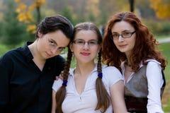 Amici delle donne Fotografia Stock