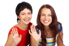 Amici delle donne Immagine Stock