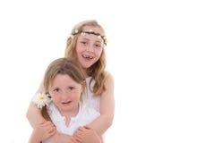 Amici delle sorelle Fotografia Stock