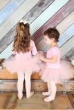 Amici di balletto Immagine Stock
