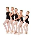 Amici di ballo di balletto Fotografia Stock Libera da Diritti