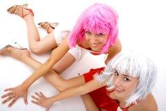 Amici di divertimento Fotografia Stock