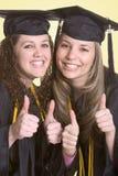Amici di graduazione Fotografia Stock