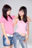 Amici di ragazza Fotografia Stock