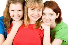 Amici femminili Immagini Stock