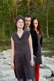 Amici - rapporti - triangolo Fotografia Stock