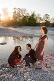 Amici - rapporti - triangolo Fotografie Stock Libere da Diritti