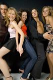 Amici sul partito Fotografia Stock