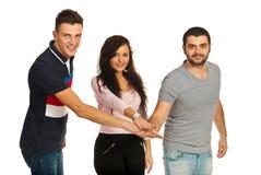 Amici uniti Fotografia Stock