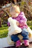Amico dell'orsacchiotto fotografia stock