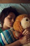 Amico dell'orso del giocattolo Fotografia Stock