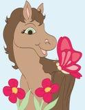 Amico rosa della farfalla Immagini Stock Libere da Diritti