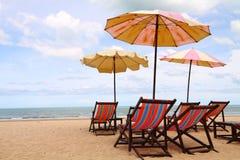 Amico-Sono la spiaggia in Tailandia Fotografia Stock