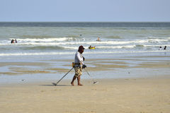 Amico-sono la spiaggia, Tailandia Immagini Stock Libere da Diritti
