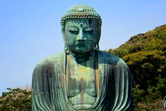 Amida Bouddha, Kamakura, Japon Photos stock
