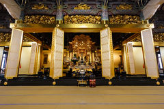 Amida Buddha at Honganji Temple in Tokyo Royalty Free Stock Photos