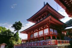 Enryaku-ji monastery with Amida temple, Kyoto, Japan stock photos