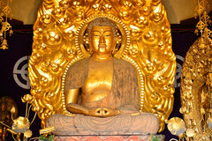Amida Nyorai chez Hase Dera Kannon Buddhist Temple, Kamakura, Japa Image libre de droits