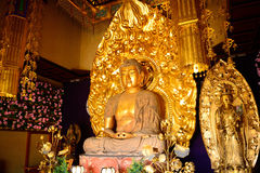 Amida Nyorai chez Hase Dera Kannon Buddhist Temple, Kamakura, Japa Images stock