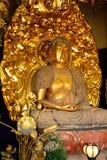 Amida Nyorai chez Hase Dera Kannon Buddhist Temple, Kamakura, Japa Photographie stock libre de droits