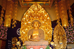 Amida Nyorai chez Hase Dera Kannon Buddhist Temple, Kamakura, Japon Photographie stock libre de droits