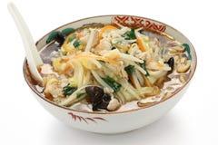 Amidacei giapponesi ramen le tagliatelle, alimento giapponese Immagine Stock Libera da Diritti