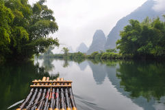 Amidst the Yulong River Royalty Free Stock Images