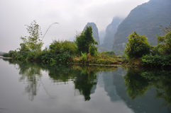 Amidst the Yulong River Stock Photos