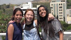 Amie de l'adolescence de sourire Images libres de droits