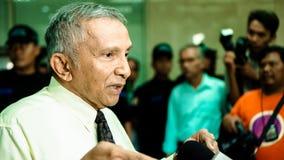 Amien Rais, Indonesische politicus stock afbeelding
