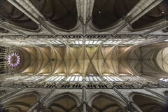 Amience Cathedral Cieling Stock Photography